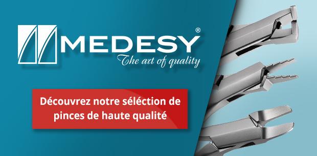 Découvrez les pinces MEDESY sur CECSMO.COM